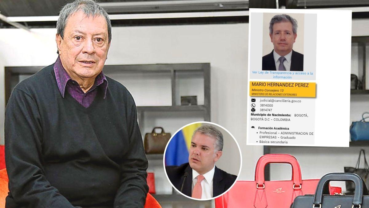 Cargo de Mario Hernández Pérez