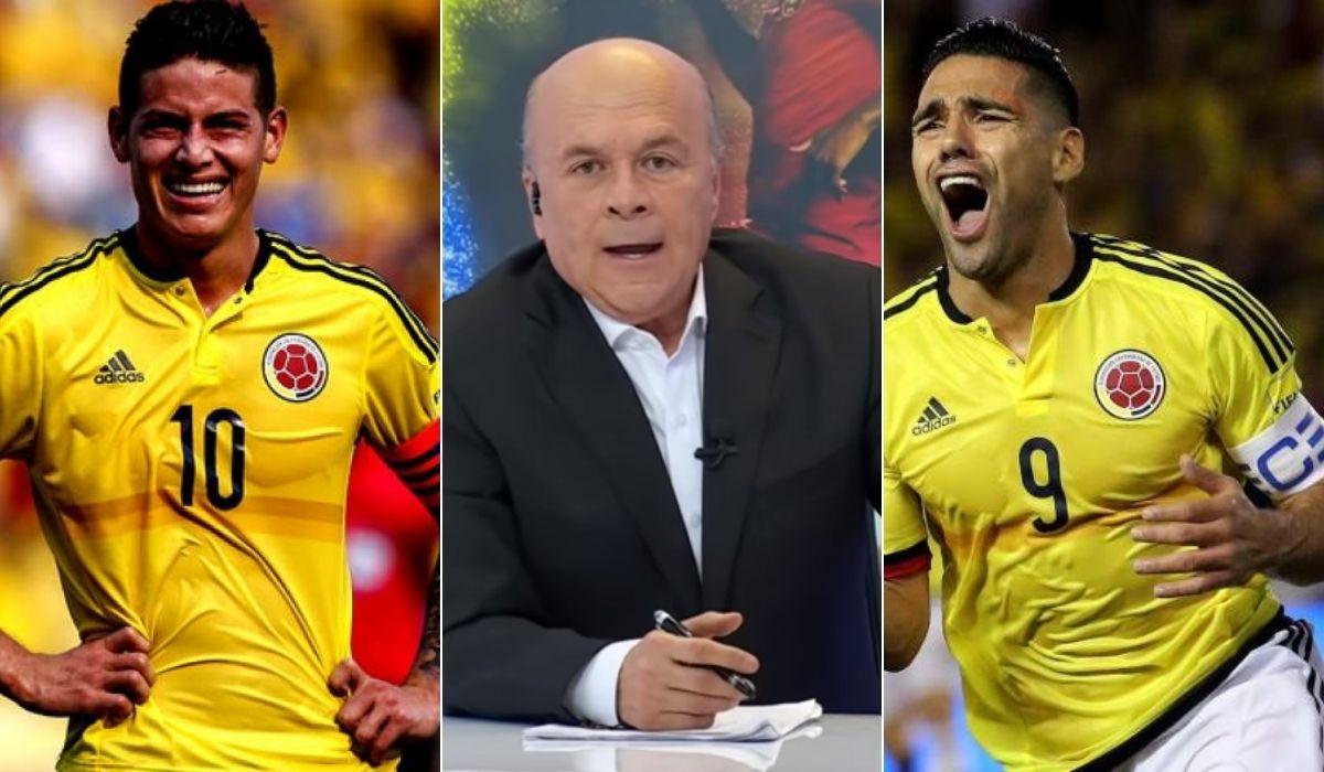 Carlos Antonio Vélez se refirió a James Rodríguez y a Falcao