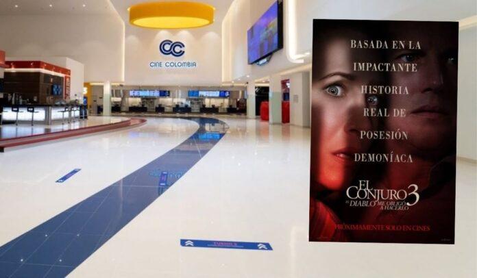 Cine Colombia espera que con el estreno del Conjuro 3, las salas de cine se llenen este 15 de junio