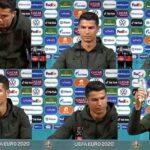 Cristiano Ronaldo contra Coca-Cola