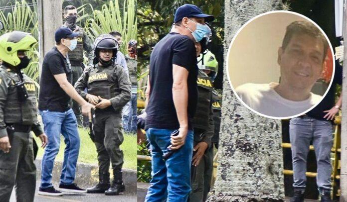 Diego Quiroz, un contratista que trabaja con la fuerza pública