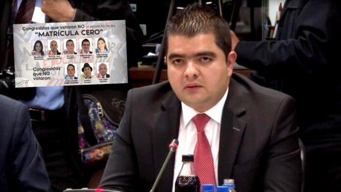 El polémico voto de Julián Bedoya