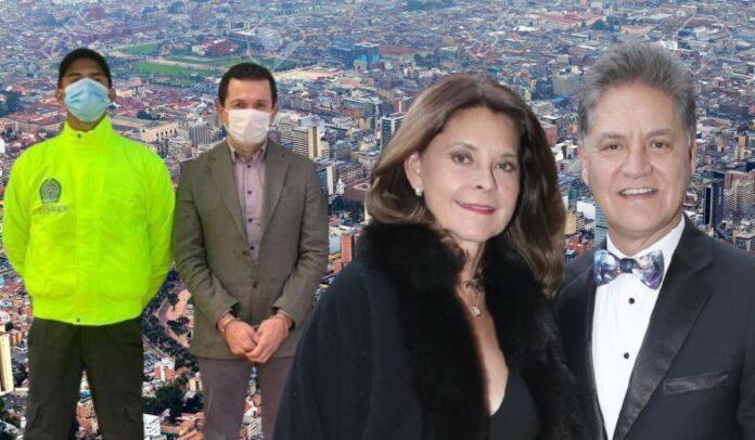 Familia de Marta Lucía Ramírez y Memo Fantasma