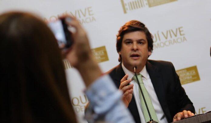 Gabriel Velasco, senador Centro Democrático