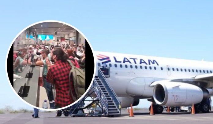 LATAM retrasó el vuelo Bogotá – Barranquilla y viajeros reclaman sus derechos