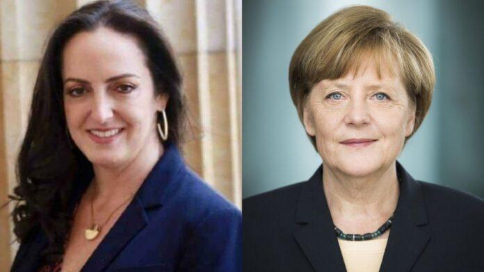 María Fernanda Cabal y Ángela Merkel
