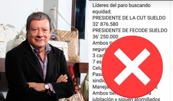 Mario Hernández y su trino falso