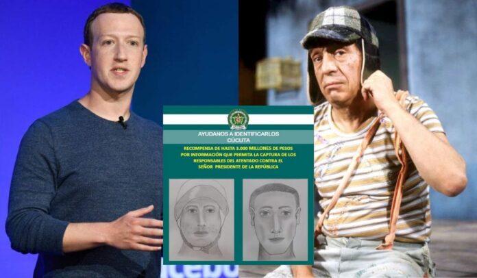 Mark Zuckerberg y el Chavo del 8 son tendencia en Colombia