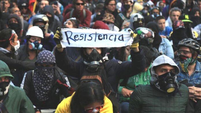 Paro nacional en Colombia 2021