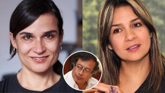 Rifirrafe entre Carolina Sanín y Vicky Dávila