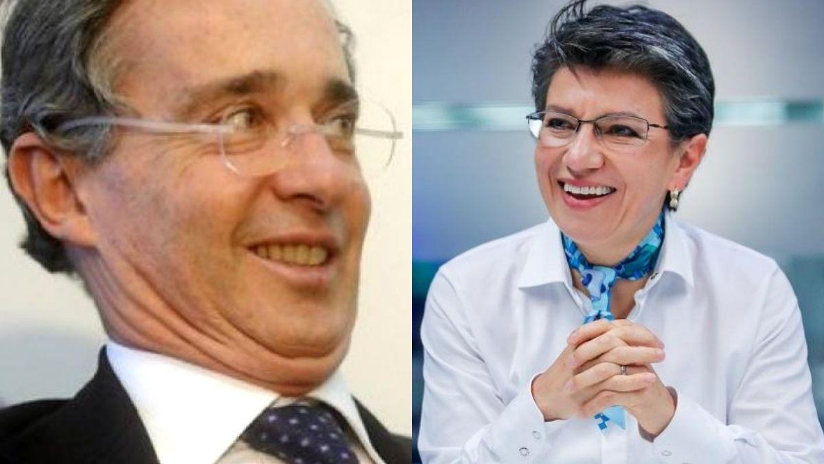 Uribe elogió a Claudia López