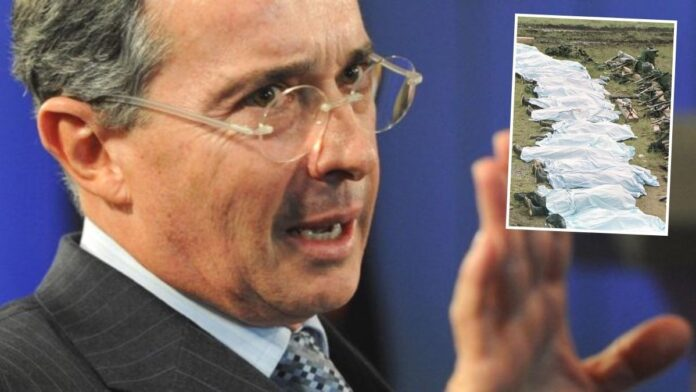 Uribe expresó haber sido engañado sobre falsos positivos