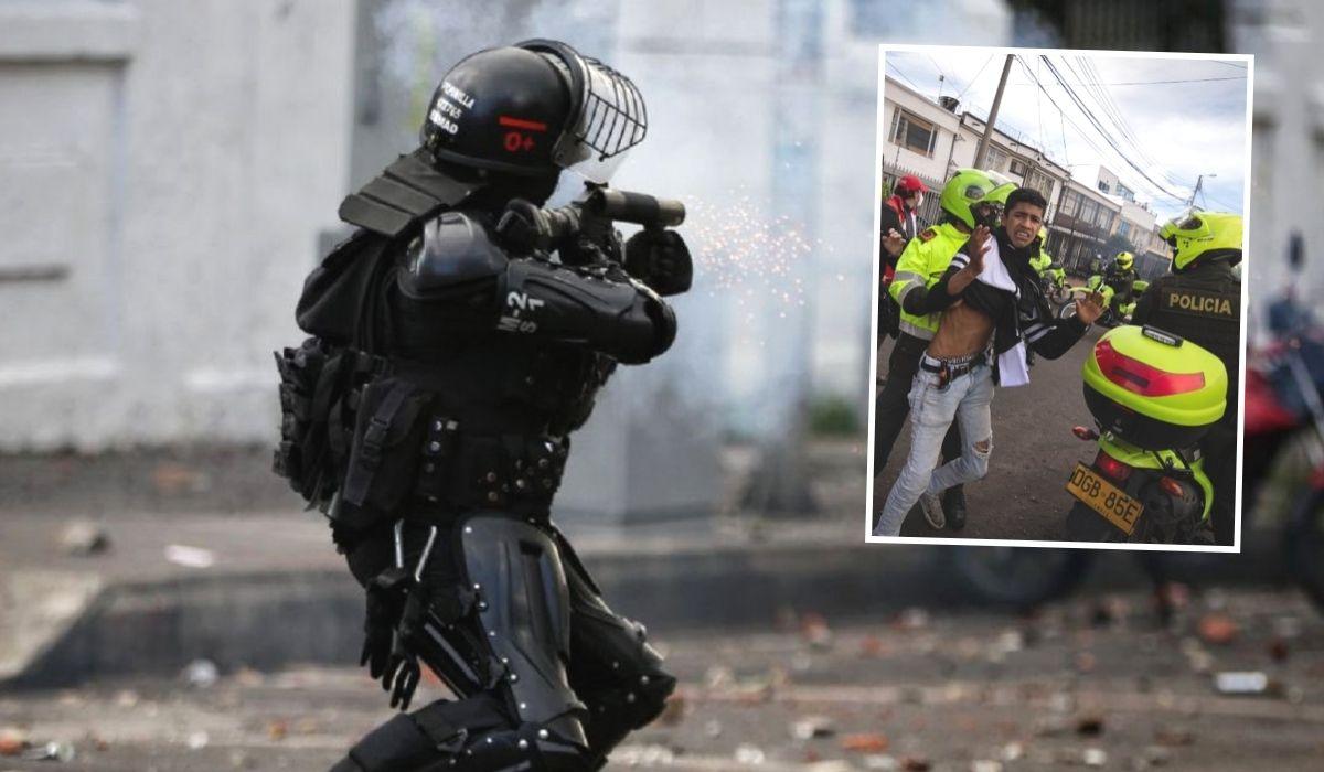 Abuso policial en Colombia