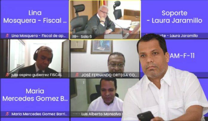 Amenazan a asistente del fiscal en caso de Luis Monsalvo Gnecco
