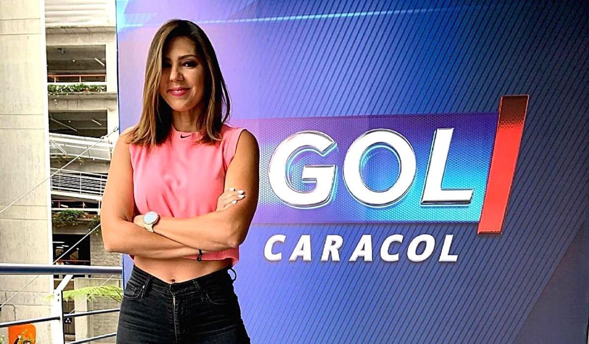 Ana María Navarrete, presentadora de Caracol en los Juegos Olímpicos de Tokyo