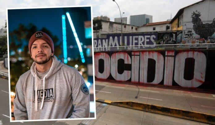Andrés Escobar promociona actividad antimural