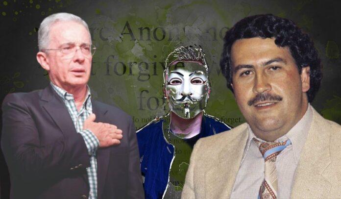 Anonymous sobre Uribe y el cartel de Medellín
