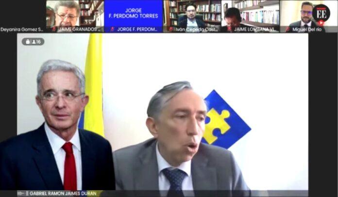 Audiencia de preclusión del caso Uribe