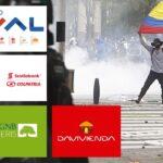 Bancos colombianos serían afectados por protestas