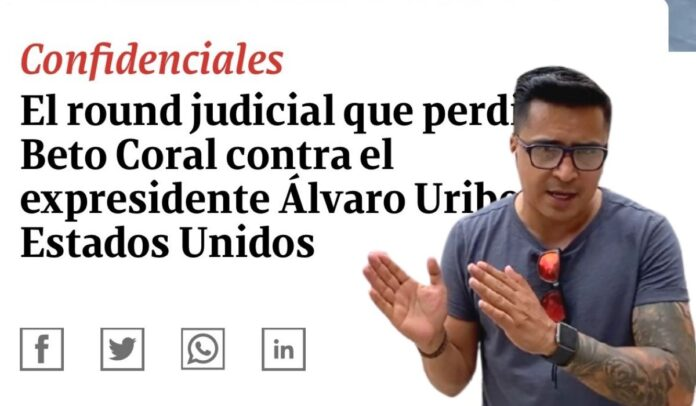 Beto Coral contra titular de Revista Semana