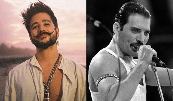 Burlas por comparación de Camilo con Freddie Mercury