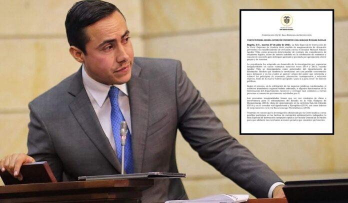 Capturado por corrupción Richard Aguilar