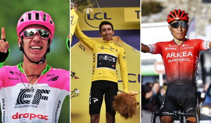 Ciclistas colombianos, los héroes del Tour de Francia