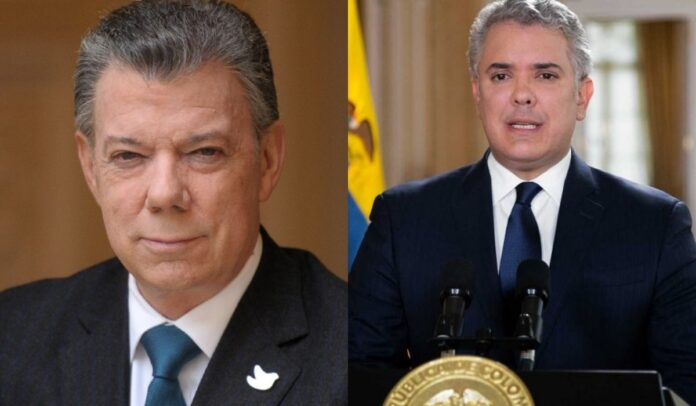 Colombianos comparan gobierno Santos y gobierno Duque