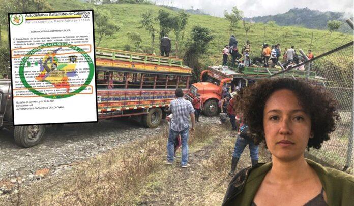 Denuncia por paramilitarismo en Ituango
