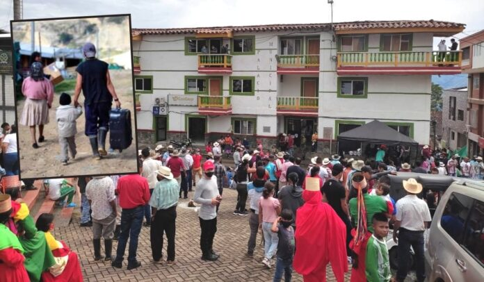 Desplazamiento en Ituango