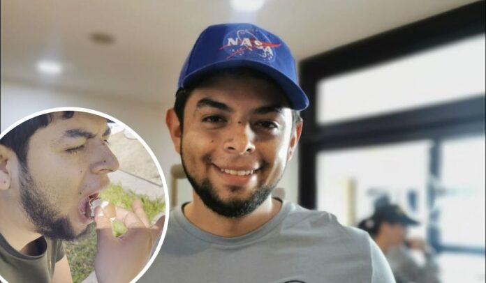 El youtuber científico colombiano probó el horno solar casero