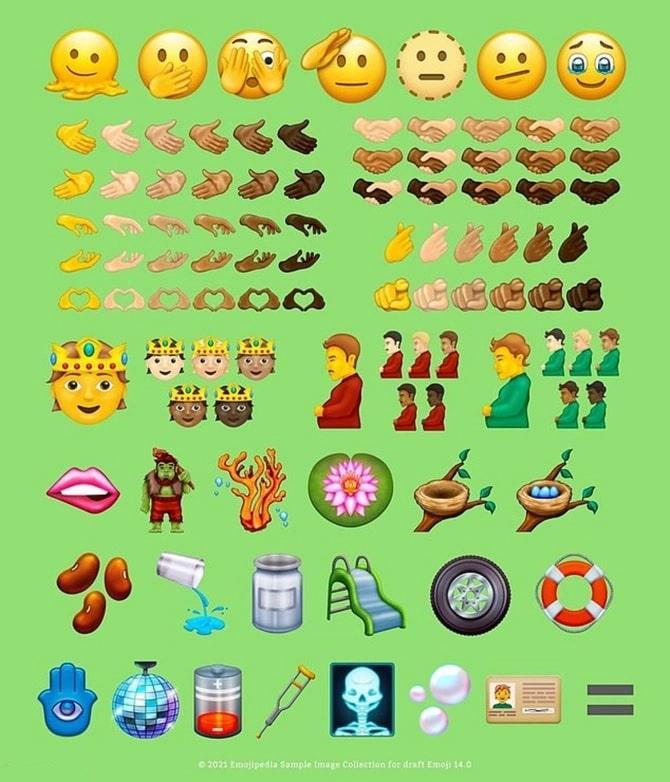 Emojipedia reveló los nuevos íconos en Twitter antes del Día Mundial del Emoji Crédito Twitter   Emojipedia