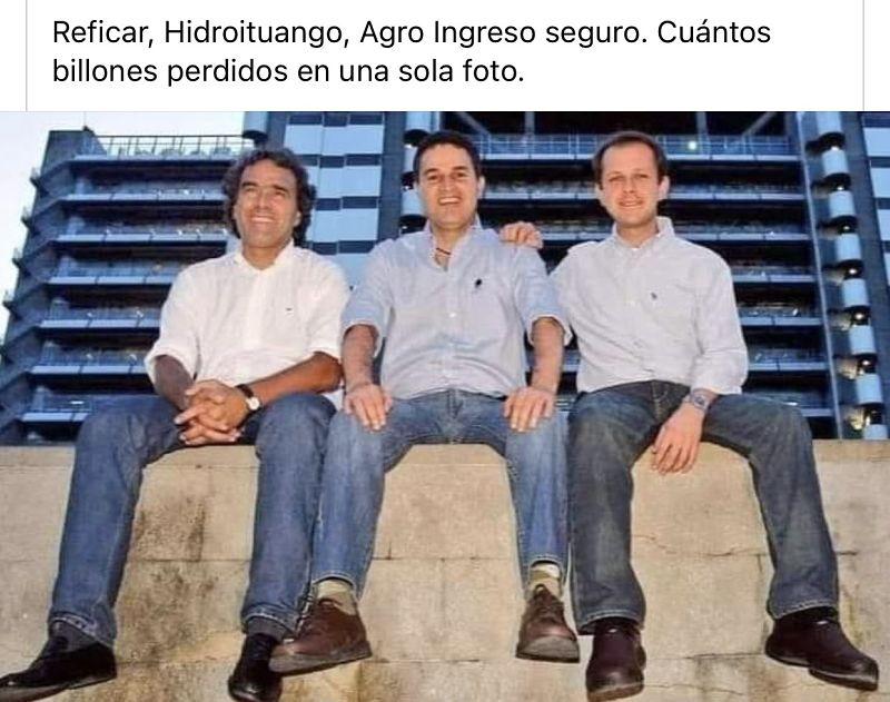 El trio antioqueño.