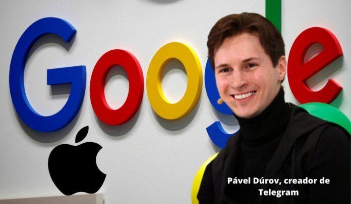Fuerte arremetida del creador de Telegram contra Google y Apple por casos de espionaje