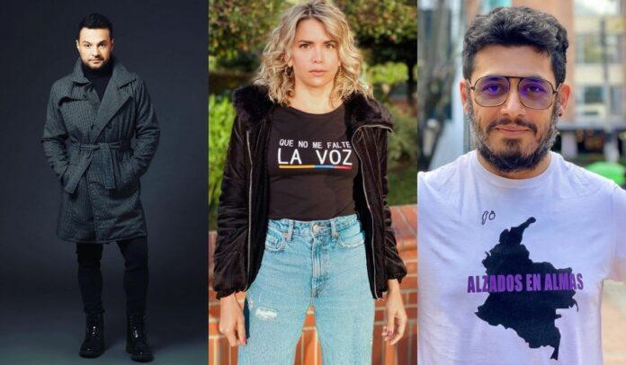 Julián Román, Adriana Lucía y Santiago Alarcón se han ganado el respeto de los colombianos.