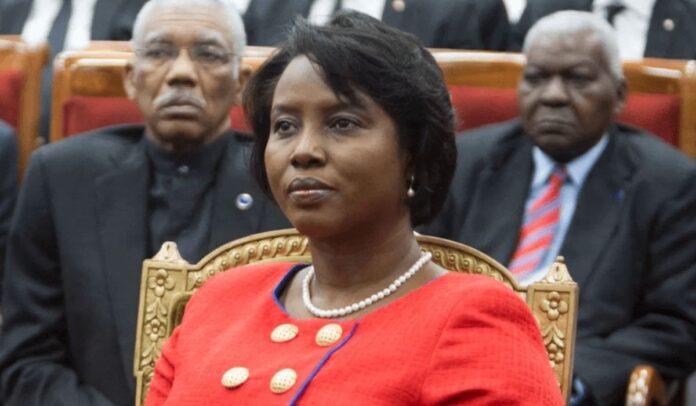 La Primera Dama de Haití, Martine Moise. Foto vía TV Guide Time
