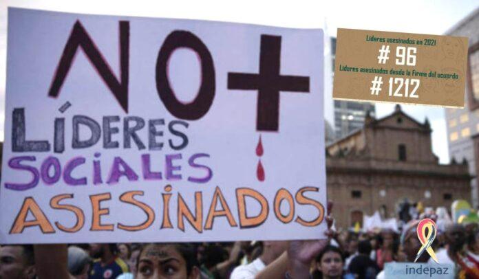 La lamentable realidad de los líderes sociales en Colombia