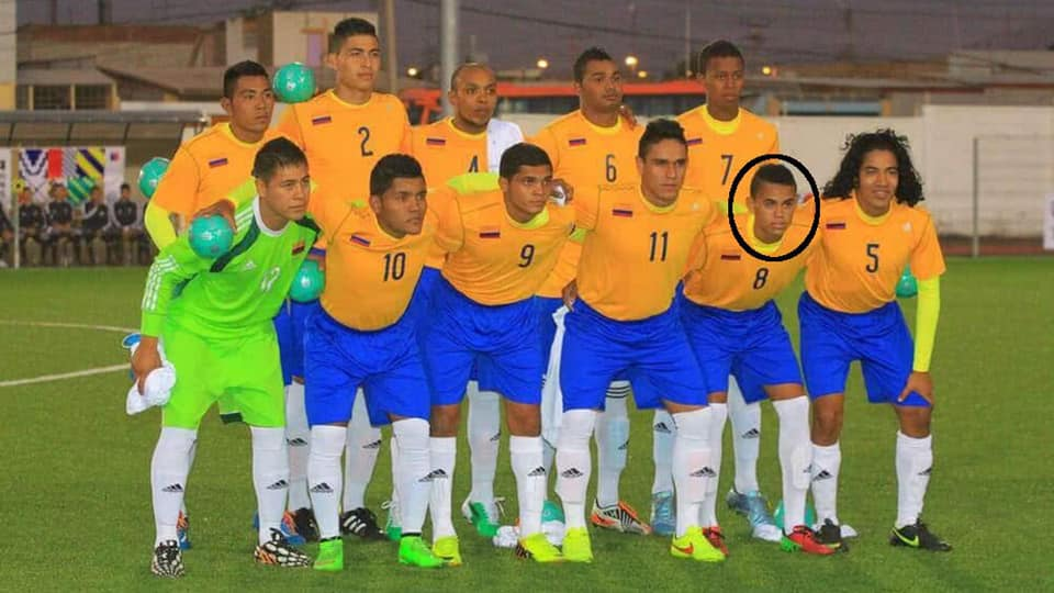Luis Díaz en la Selección Colombia Indígena