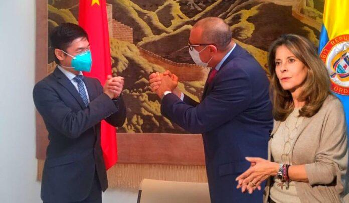 Marta Lucía Ramírez agradecida con el Partido Comunista Chino