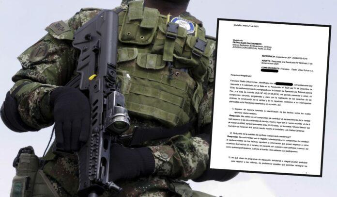 Mercenario colombiano habría cometido falso positivo