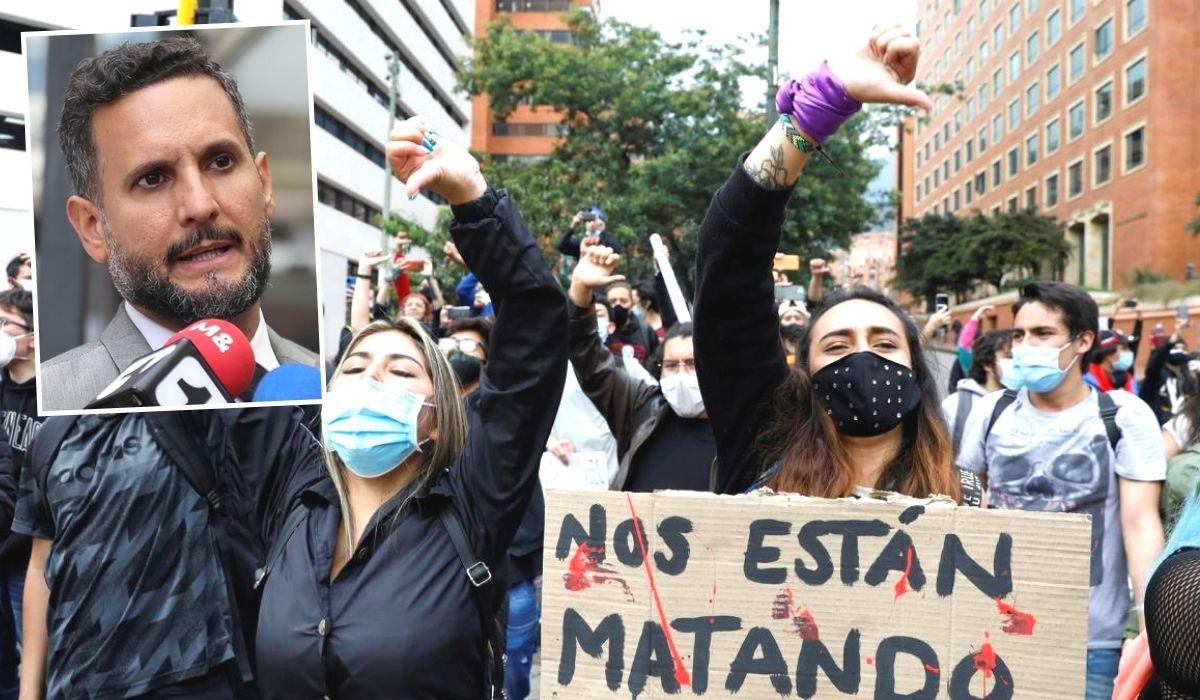 Están exterminando a la juventud en Colombia.