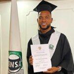 Miguel Borja se graduó en el bachillerato
