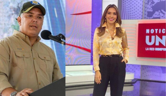 Mónica Rodríguez le respondió al presidente Duque