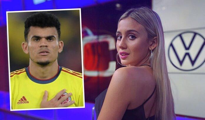Morena Beltrán encantada con Luis Díaz