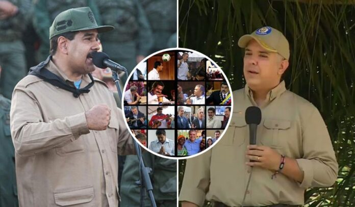 Nicolás Maduro Iván Duque