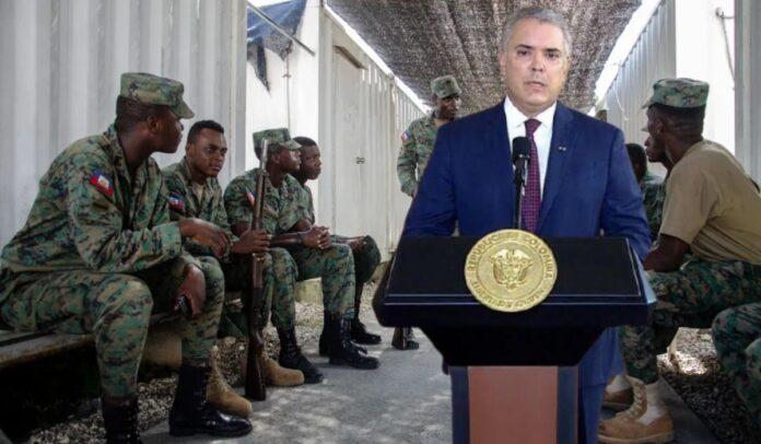 Iván Duque se habría ensuciado las manos: militares estuvieron 4 meses antes en Haití por orden del gobierno