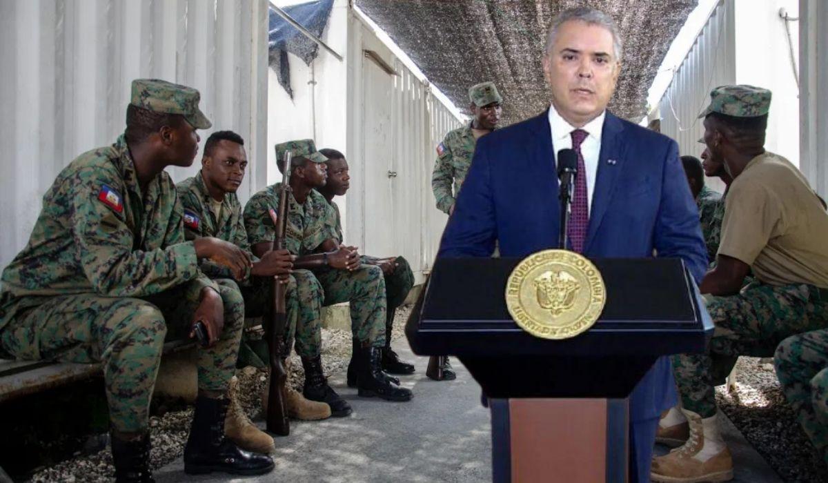 No quieren soldados militares en Haití