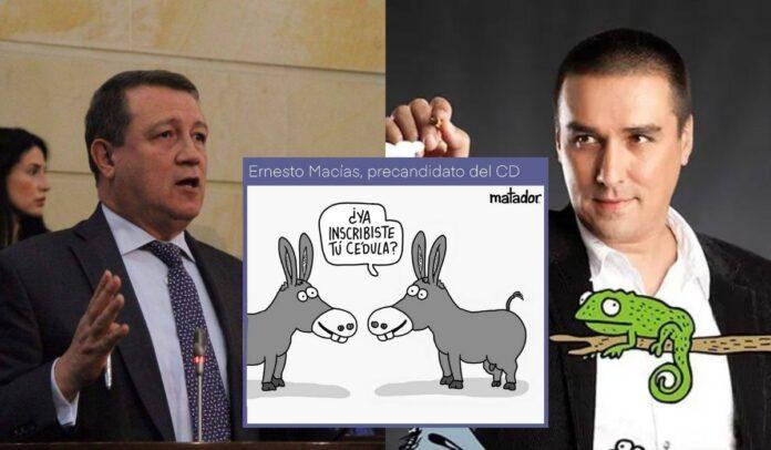 Piden no comparar a los burros con Ernesto Macías
