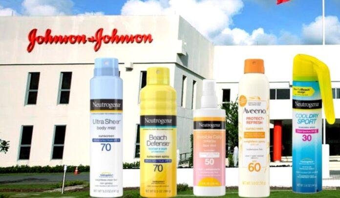 Protectores solares de Johnson & Johnson cancerígenos