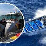Recuperado del mar alijo de alcaloides que era transportado hacia Centroamérica